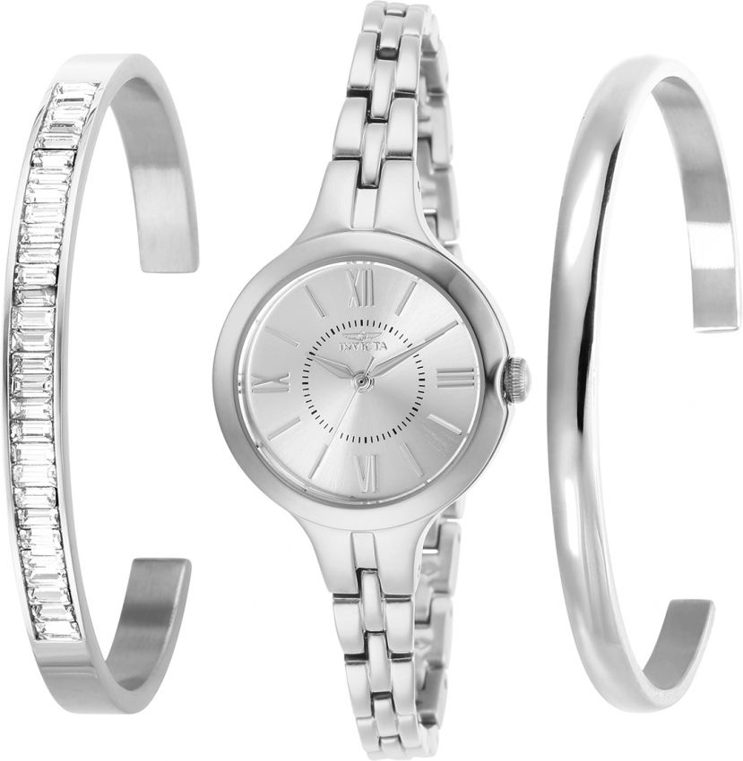 Invicta-Women-039-s-29339-039-Angel-039-Stainless-Steel-Watch thumbnail 2