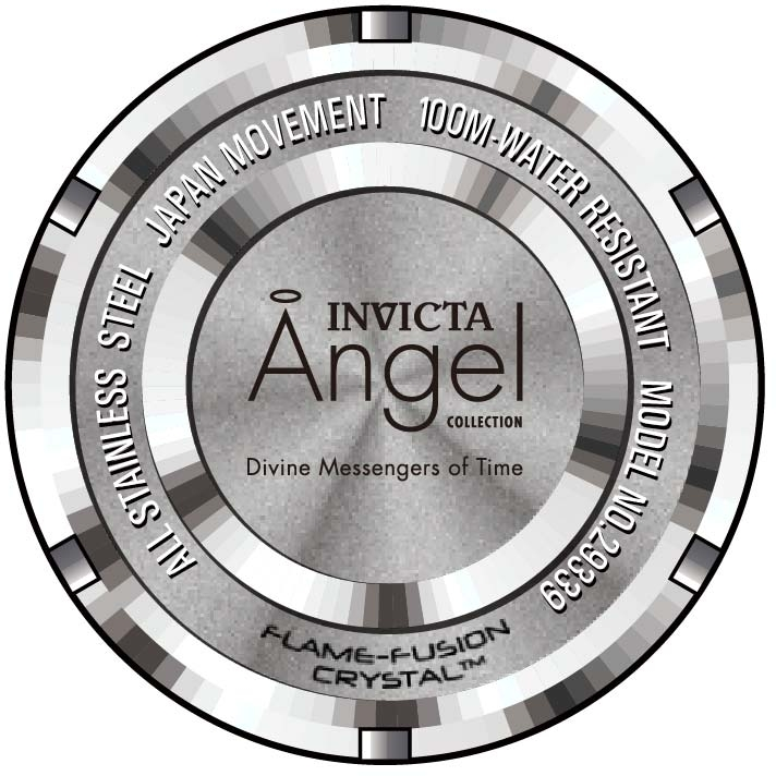 Invicta-Women-039-s-29339-039-Angel-039-Stainless-Steel-Watch thumbnail 5